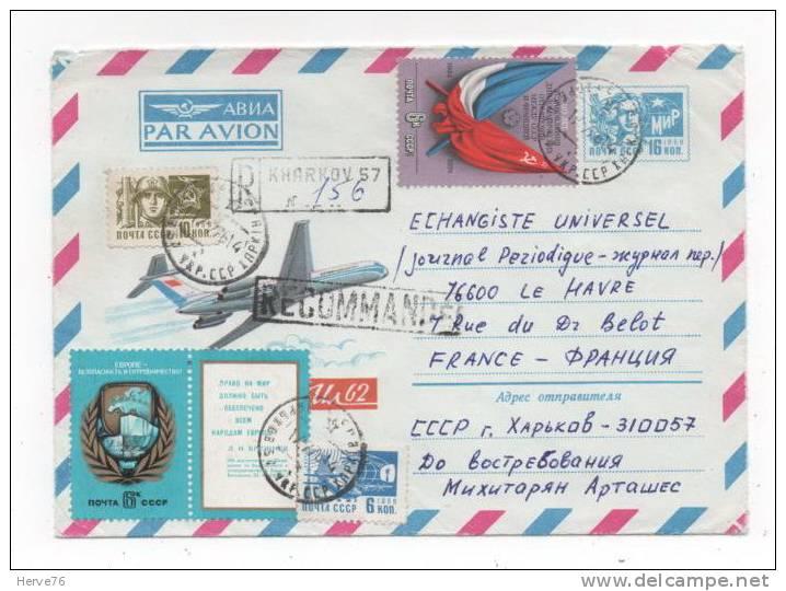 RUSSIE - Enveloppe Timbrée Par Avion - 1992-.... Federation