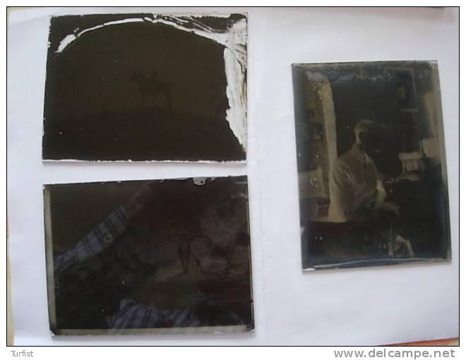 DOOSJE MET 17 NEGATIEVE  GLASPLATEN (FOTO'S)  PERIODE 1920 - Glasdias
