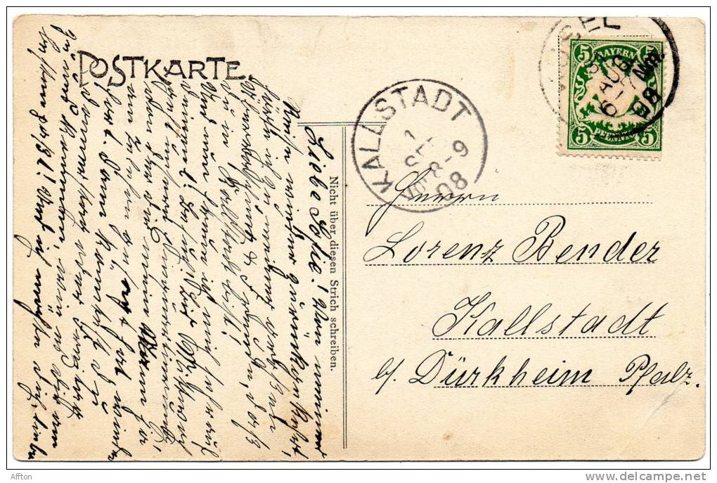 Gruss Aus Kusel 1856 Buxkin Und Tirtey Fabrik Dl. Zollner 1906 - Kusel