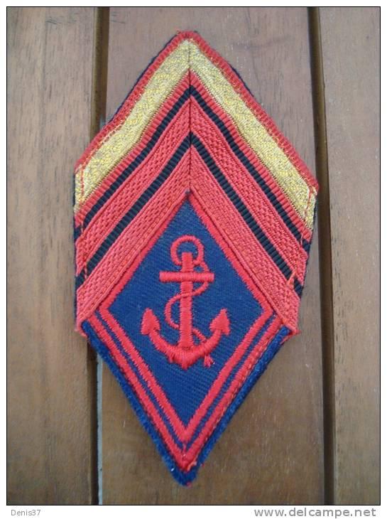 Losange De Bras Mod. 45 Troupe De Marine RIC,RIMa, RPIMa  Lavable - Patches