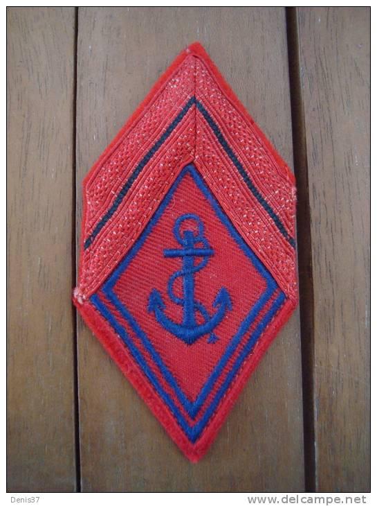Losange De Bras Mod. 45 Troupe De Marine RAC,   Lavable - Patches