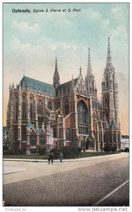 Oostende, Ostende Eglise S Pierre Et S Paul (pk10725) - Oostende