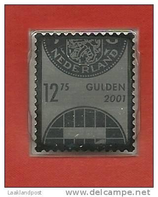 Netherlands Silver Stamp 2002 Unused Presentation Map - Periode 1980-... (Beatrix)