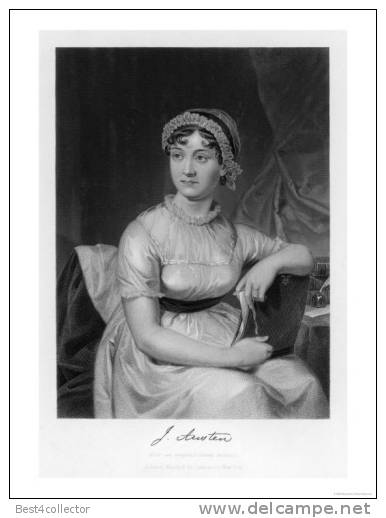 @@@ MAGNET - Jane Austen English Novelist - Reklame