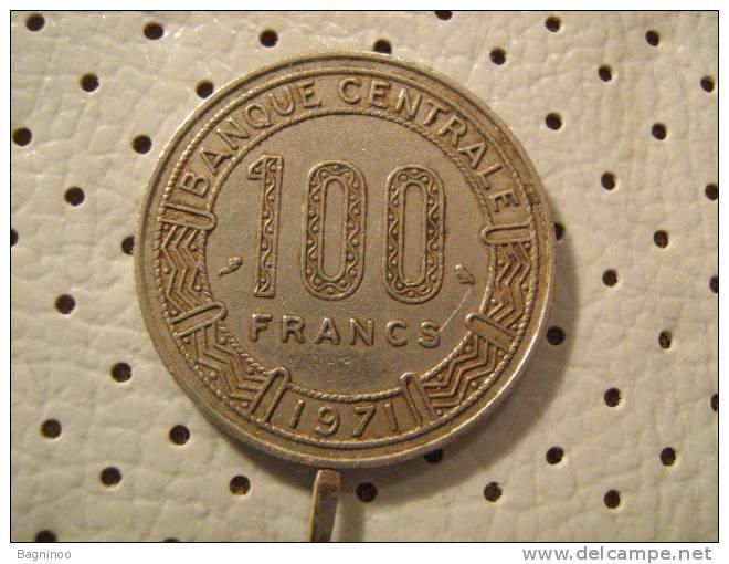 CAMEROON 100 Francs 1971 - Cameroon