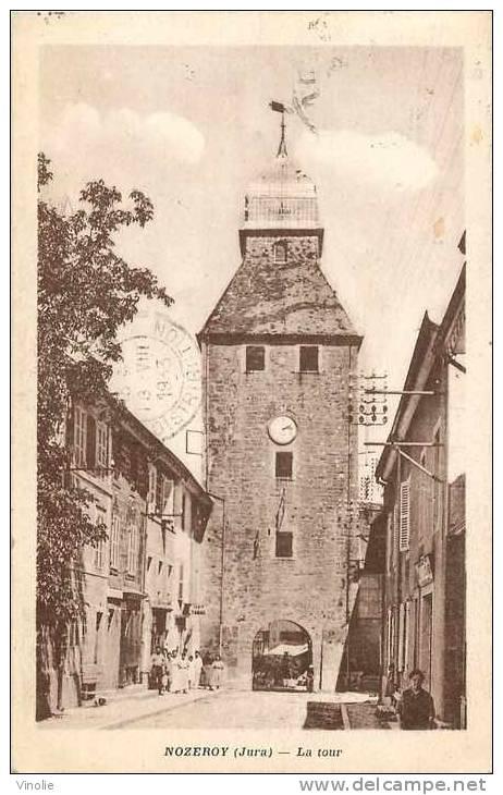 Jura : Réf : D-12-1964 : Nozeroy - Frankrijk
