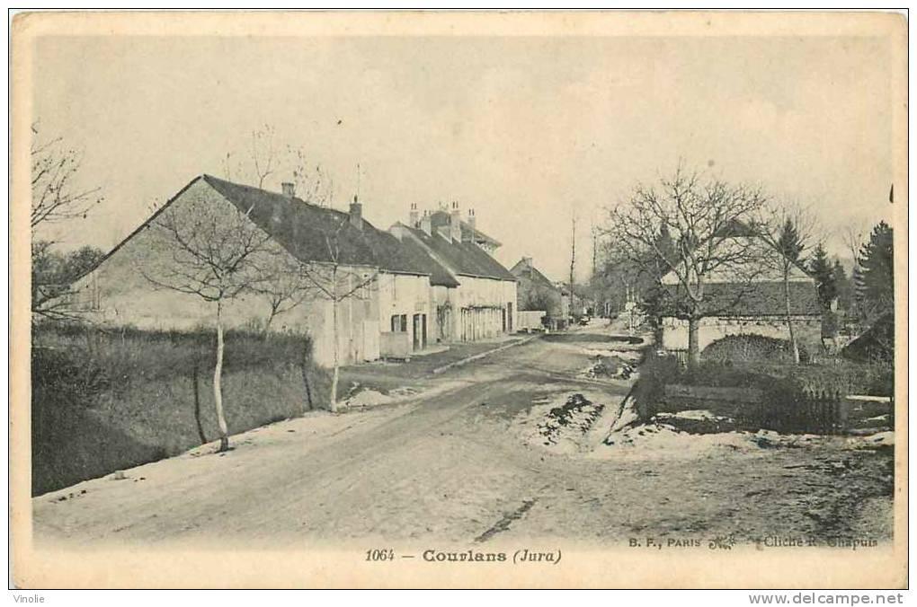 Jura : Réf : D-12-1979 : Courlans - Frankrijk