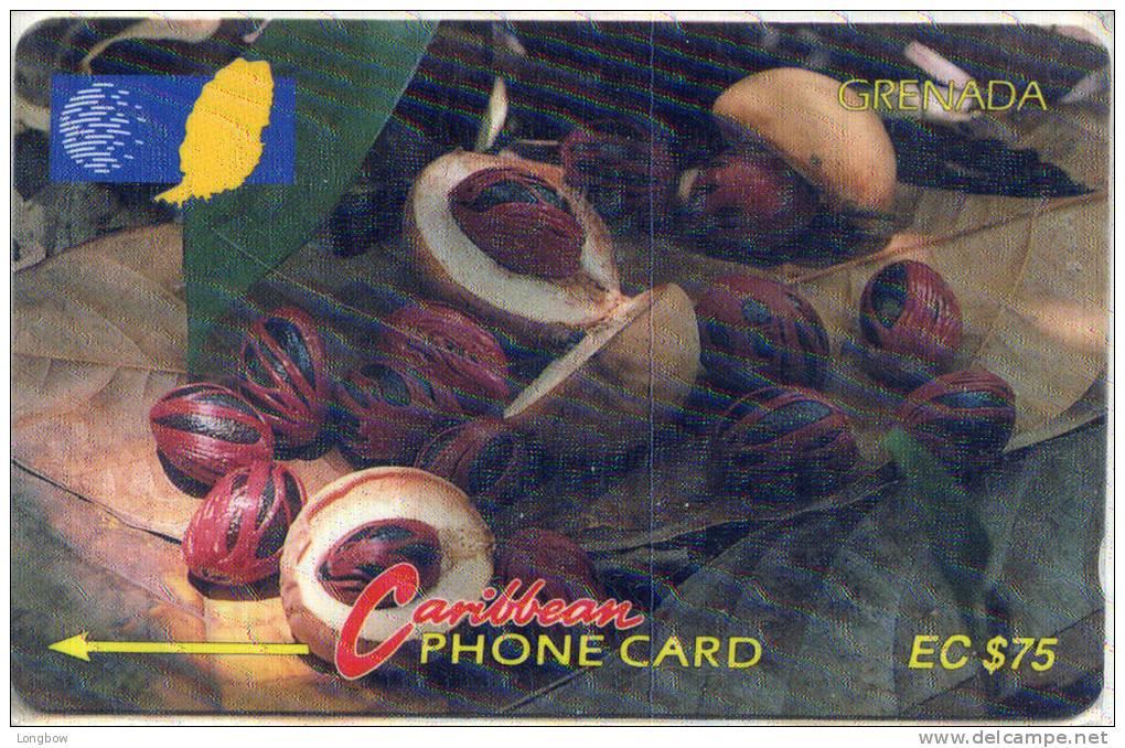 GRENADA-  6CGRD-ISSUED BY GRENTEL - Grenada