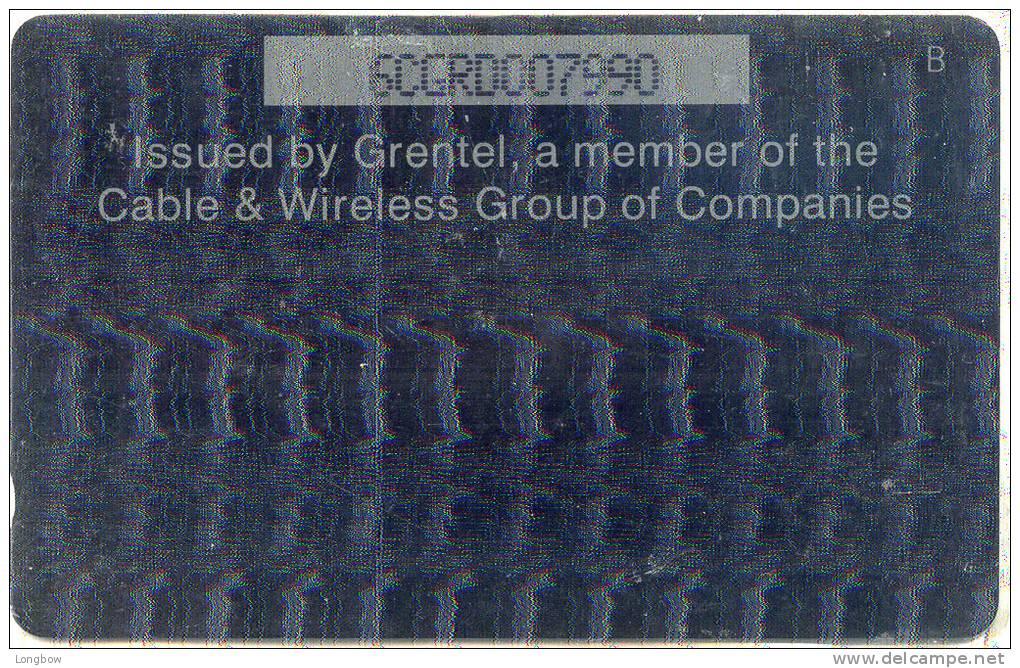 GRENADA-  6CGRD-ISSUED BY GRENTEL - Granada