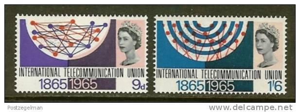 UNITED KINGDOM 1965 Unused Hinged Stamp(s) I.T.U Nrs. 406-407 - 1952-.... (Elizabeth II)