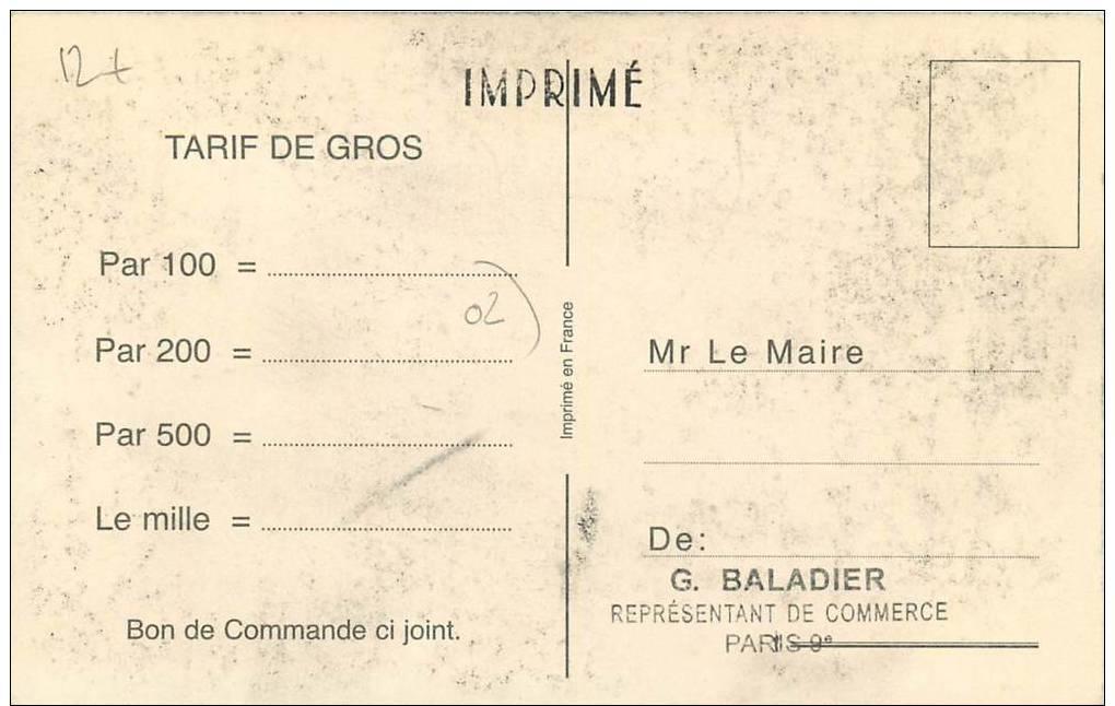 ";CPA FRANCE 02 ""Un Baiser De Juvigny"" - Autres Communes"