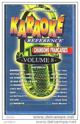 CHANSONS FRANCAISES  °   KARAOKE 10 TITRES INNOUBLIABES VOLUME 8 - Concert Et Musique