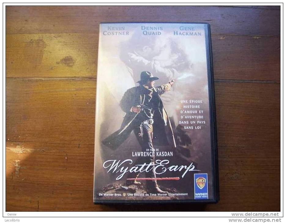 WYATT EARP  °°° AVEC KEVIN COSTNER  ++ - Western/ Cowboy