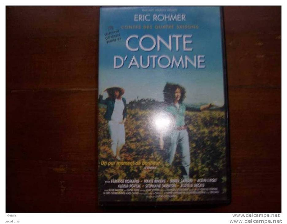 CONTE D'AUTOMNE D'ERIC ROHMER - Romantique