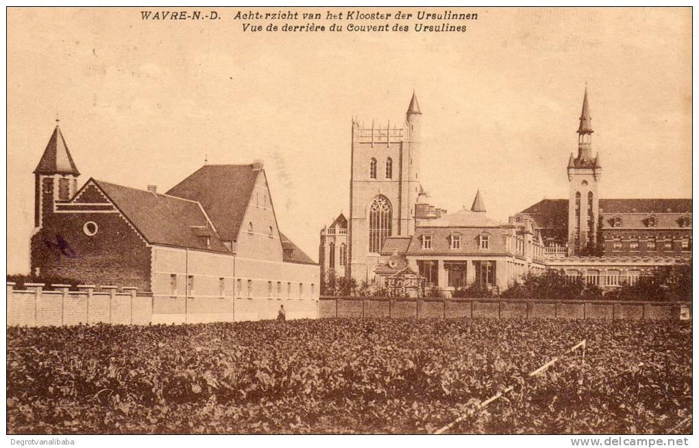 OLV Waver: Achterzicht Van Het Klooster Der Ursulinen - Sint-Katelijne-Waver