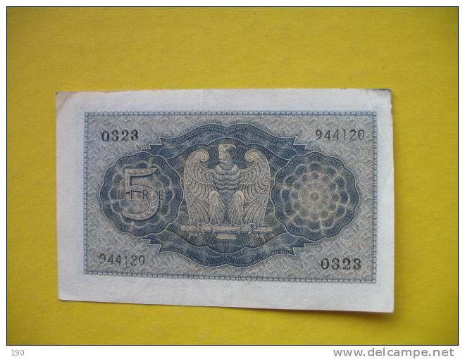 Regno d'Italia � 5 lire - Delcampe.net
