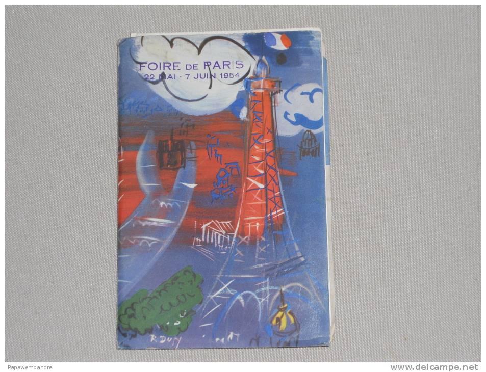 Foire De Paris 22 Mai - 7 Juin 1954 (horaire Metro, Bus) : Paris Où Quand Comment ? - Europe