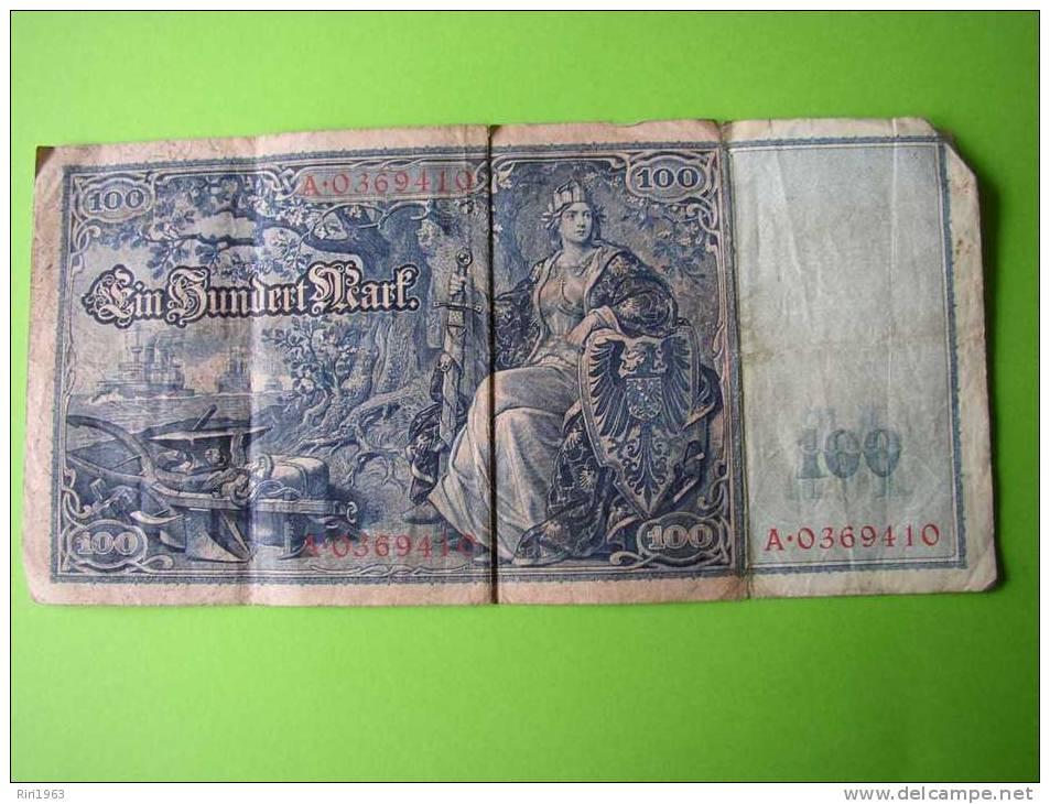 100 Mark 1908-a Identifier - Allemagne