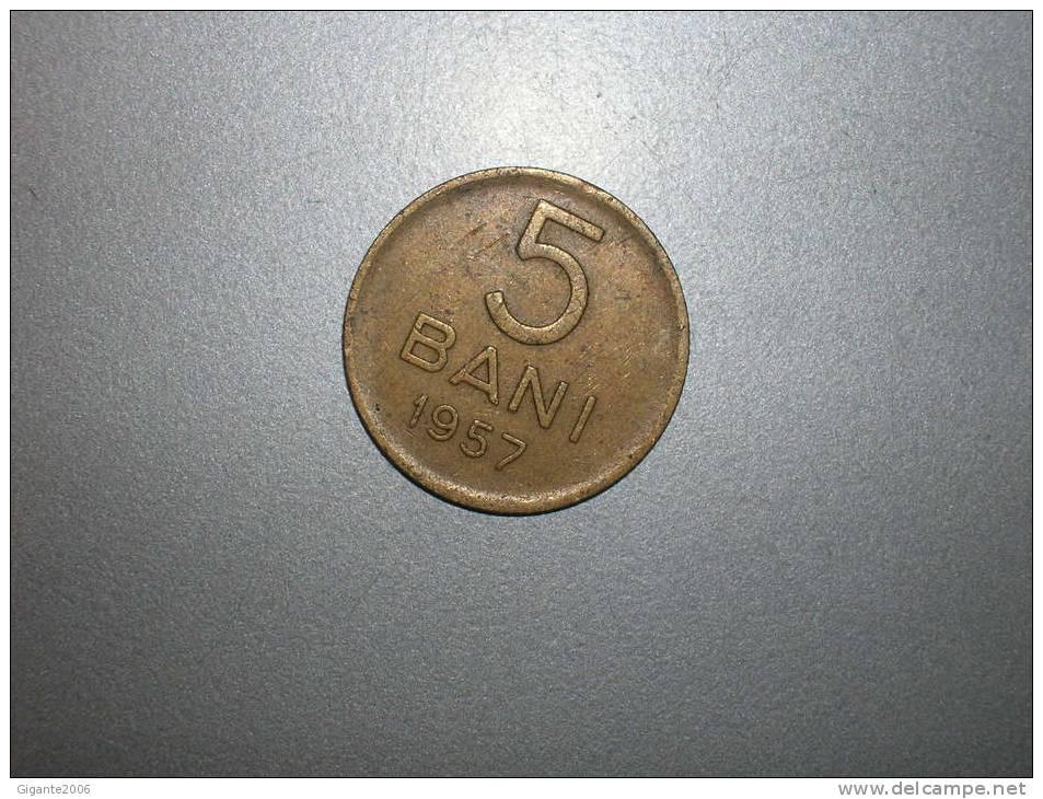 5 Bani 1957  (1629) - Rumania