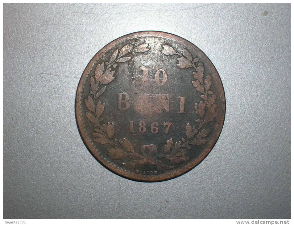 10 Bani 1867  Heaton (1617) - Rumania