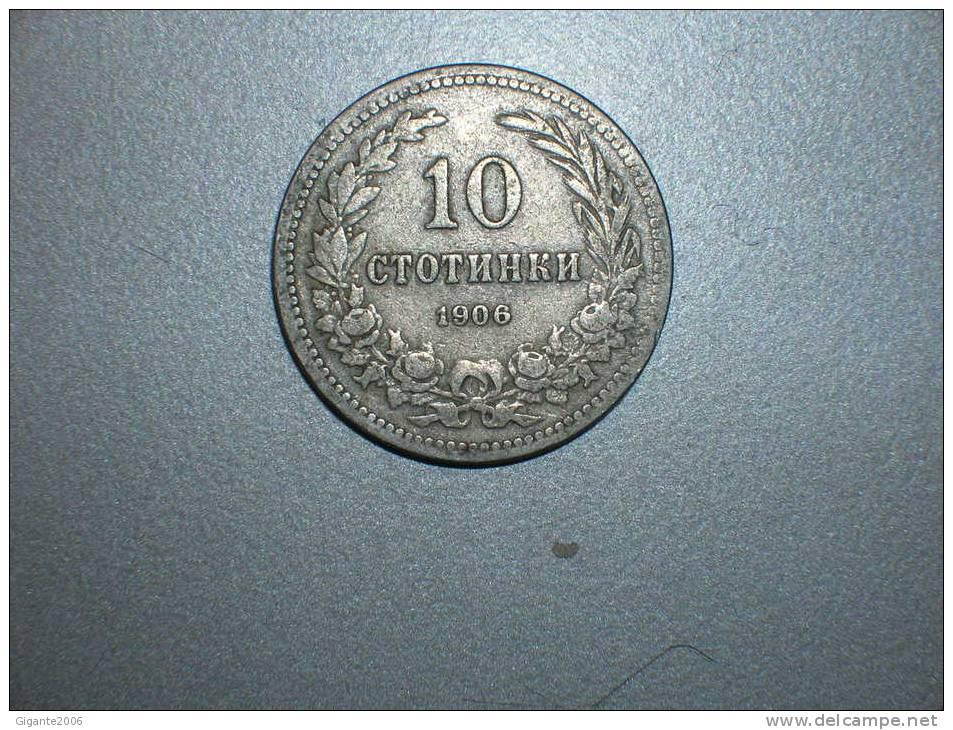 10 Stotinka 1906 (1607) - Bulgaria