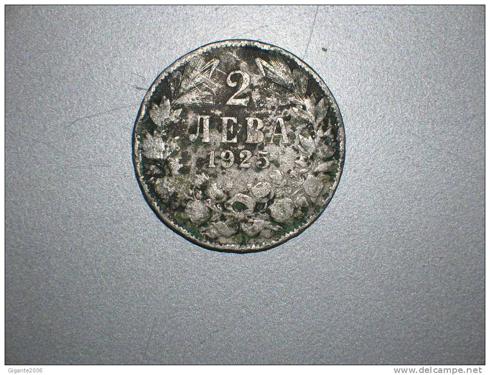 2 Leva 1925 (1615) - Bulgaria