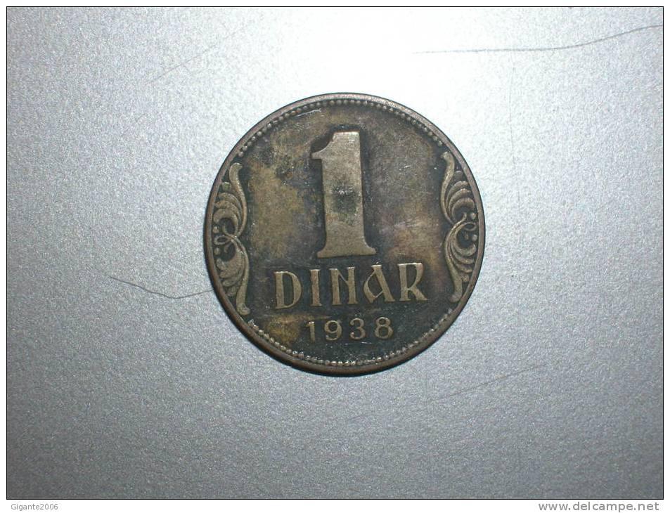 1 Dinar  1938 (1596) - Yugoslavia