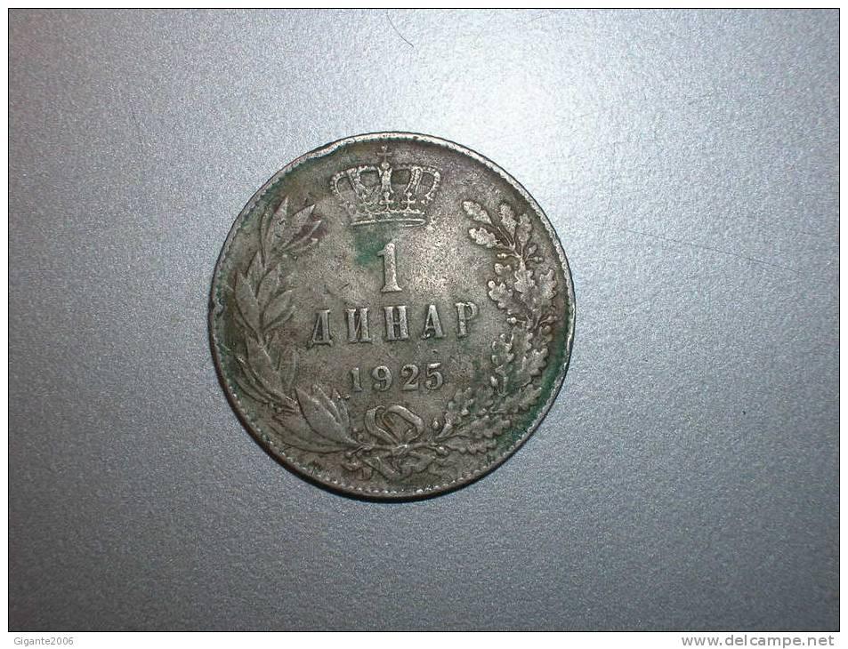 1 Dinar  1925 (1597) - Yugoslavia