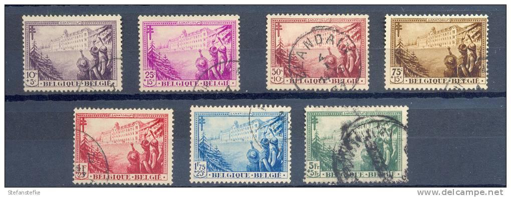 Belgie -  Belgique Ocb Nr :  356 - 362 (zie  Scan) - Used Stamps