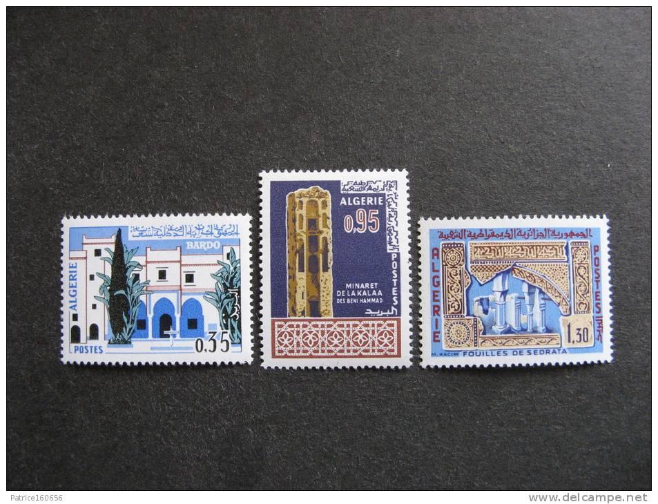 Algérie:  Serie N° 441 Au N° 444, Neufs XX. - Algeria (1962-...)