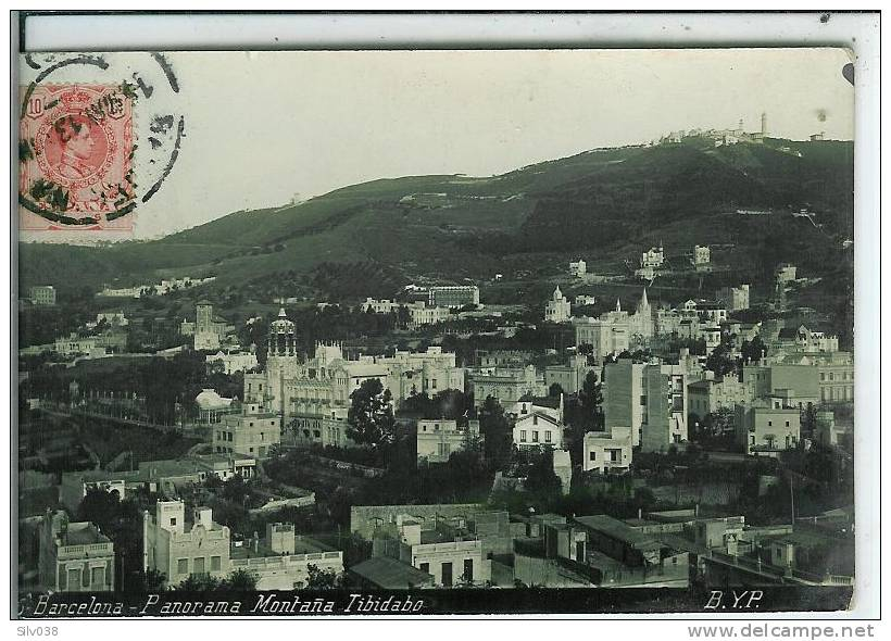 ESPAGNE- BARCELONE-PANORAMA MONTANA TIBIDABO-46 - Barcelona