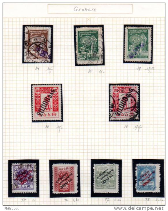 St Georges, Tsarine Tamara, Rép Soviétique, Les Affamés De La Volga, Entre 4 Et 48 - Georgië