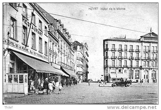 Heyst 78: Hôtel De La Marine 1924 - Heist
