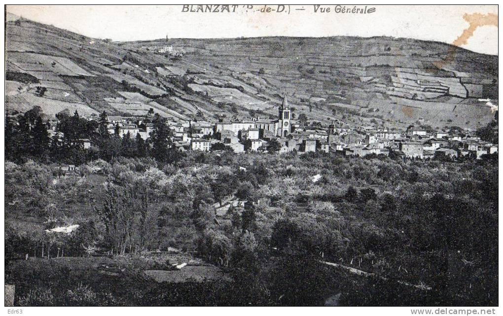 [63] Puy-de-Dôme > Non Classés Blanzat Vue Generale - Non Classificati