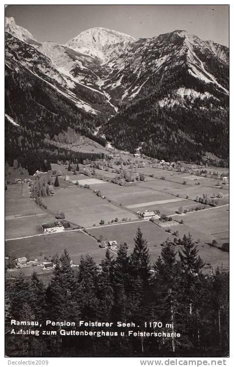 B69815 Ramsau Am Dachstein Not Used Perfect Shape 2 Scans - Chiemgauer Alpen
