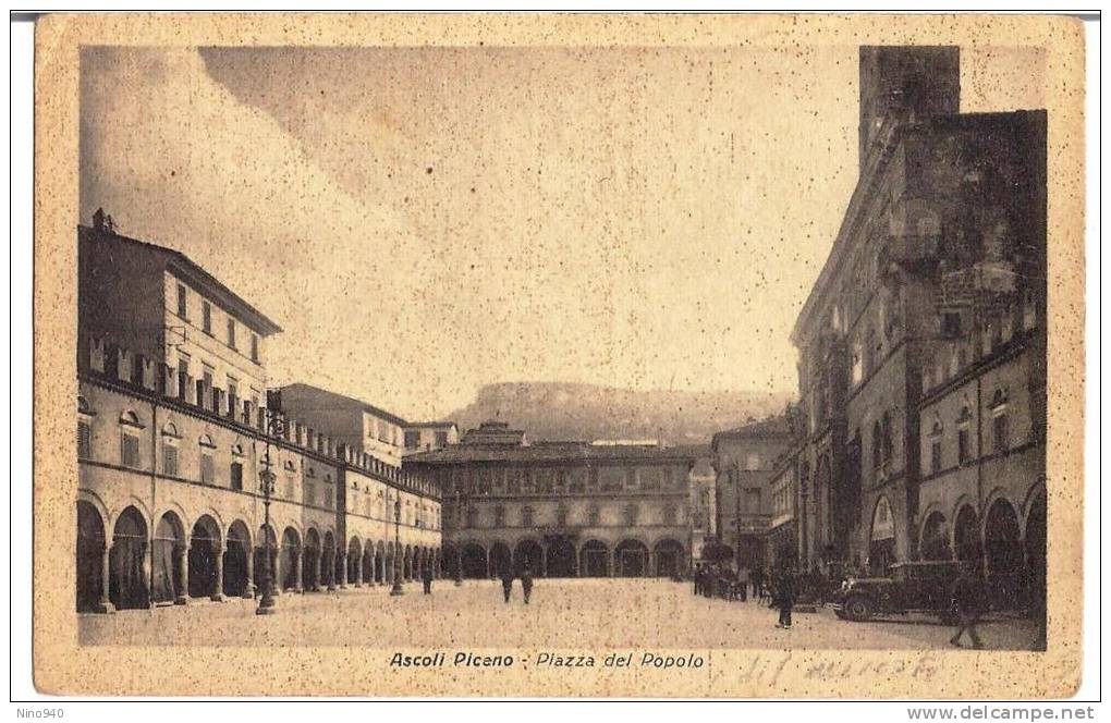 ASCOLI PICENO - PIAZZA DEL POPOLO - F/P - N/V - Ascoli Piceno