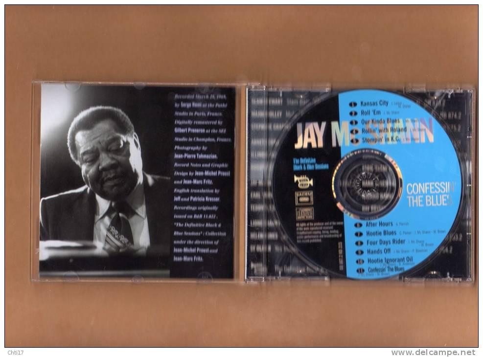 "JAY MC SHANN  "" CONFESSIN THE BLUES  "" DEFINITIVE BLACK&BLUE SESSIONS EDIT  BLACK & BLUE EN 1999 - Jazz"