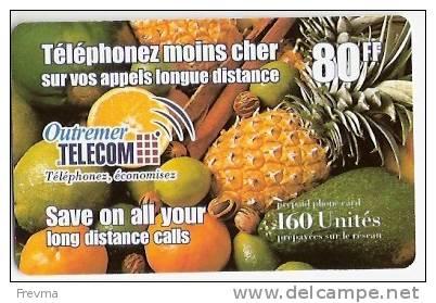 Carte Prepayée Outremer 160u - Tarjetas Telefónicas