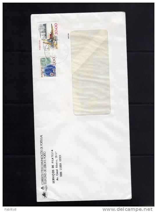 PORTOGALLO - PORTUGAL  SERVIçOS DE FILATELIA 1991 GUARDARE LA SCANSIONE GRAZIE - LOOK THE SCAN, THANK YOU - Lettere