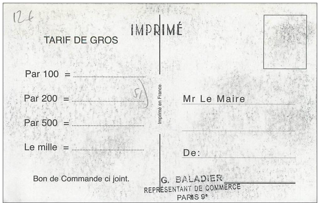 """* CPA FRANCE 51 """"Juvigny"""" - Autres Communes"""