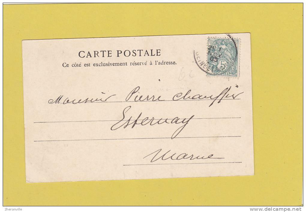 CPA - Mille Francs - Banque De France - Paris Le 12 Décembre 1899 - Monnaies (représentations)