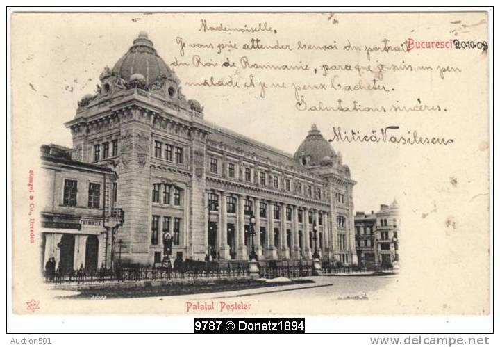 09787g BUCAREST - PALAIS - Palatul Postelor - 1903 - Roumanie