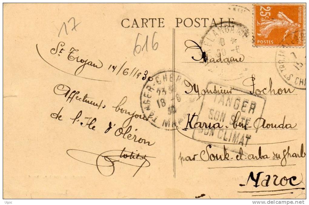 CPA - 17 - SAINT-TROJAN-les-BAINS - L'Appontement -   - 616 - France