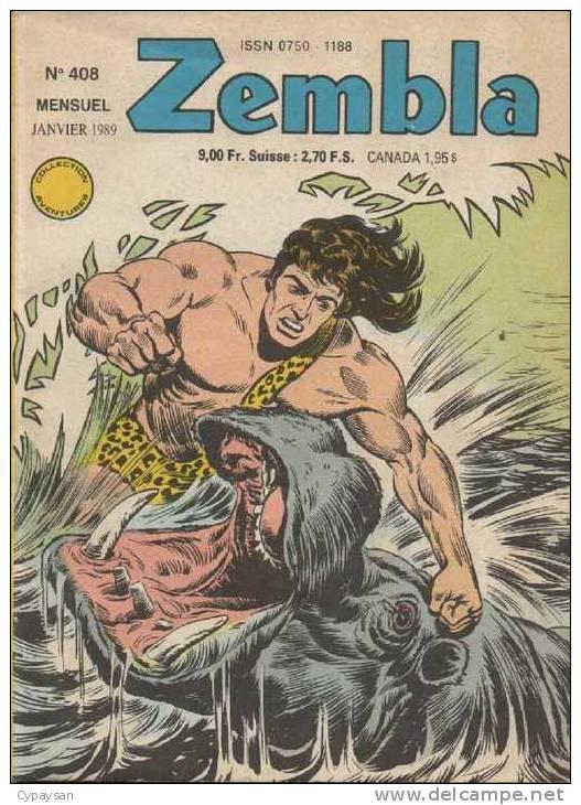 ZEMBLA N° 408 BE LUG 01-1989 - Zembla