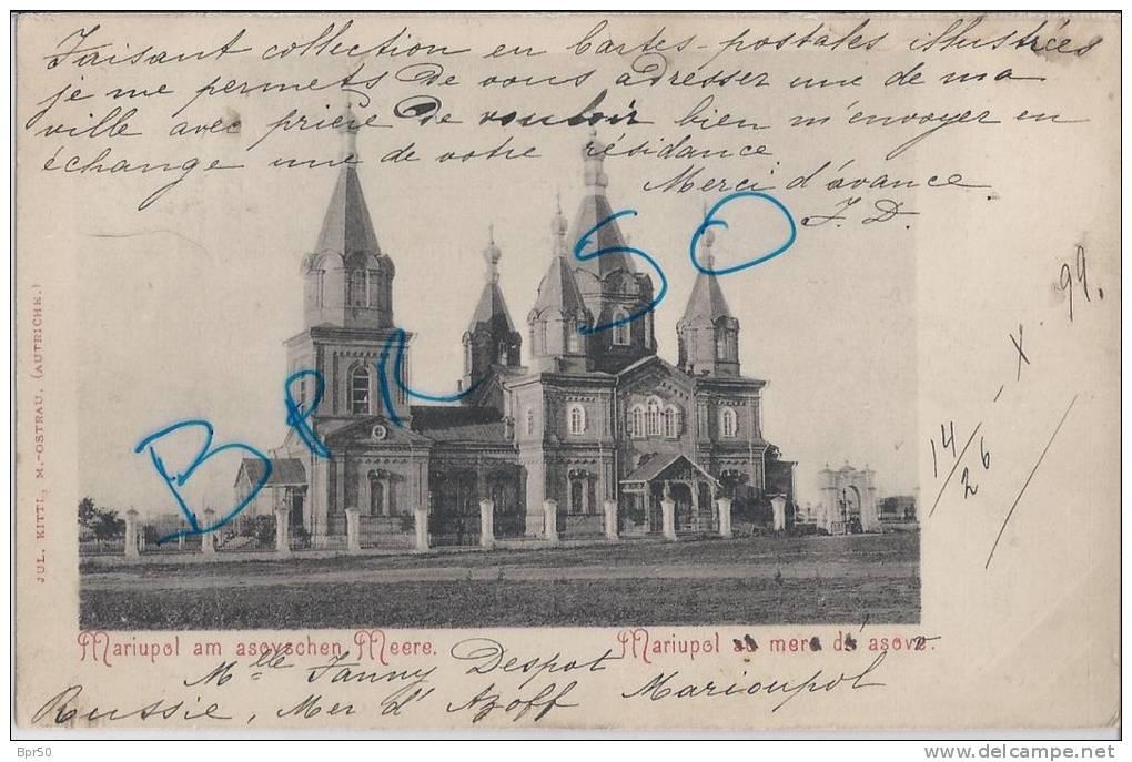 Mariupol        14 Octobre 1899 - Ukraine