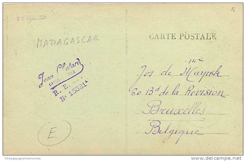 180850-Madagascar, Diego-Suarez, Panorama View, Card No 6 - Madagascar