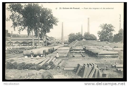 47 FUMEL CONDAT /       Usines - Parc Des Tuyaux Et Du Minerai     / - Autres Communes
