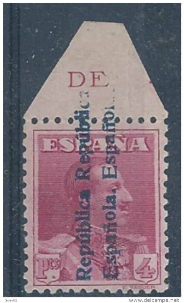 ESNE26-L990BTSC..Espagne .NO EXPENDIDO.Spain.ALFONSO Xlll.1931.(Ed  NE.26**).sin Charnela..LUJO.      O. - Sin Clasificación