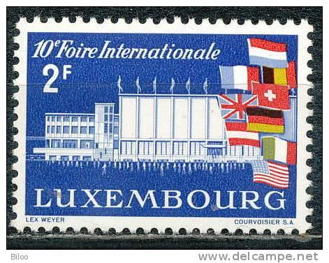 N° 540, Foire De Luxembourg, **/mnh - Lussemburgo