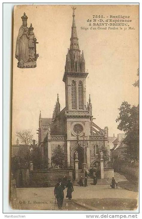 DEP 22 SAINT BRIEUC BASILIQUE - Saint-Brieuc
